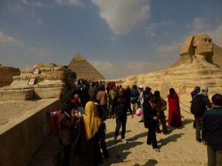 エジプト人の観光客の増加