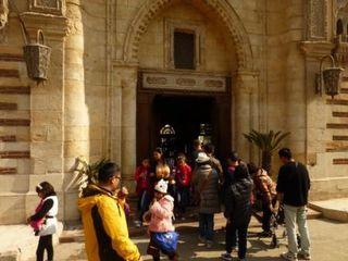 ムアッラカ教会入口