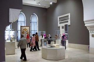 「イスラム芸術博物館」内部