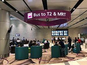 空港内のシャトルバスはターミナル2行きのみ