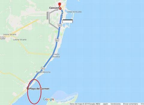 地図 ユカタン 半島